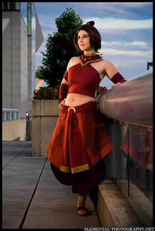 Suki from Avatar: The Last Airbender worn by Tess