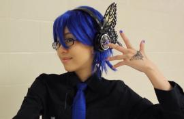 Kaito from Vocaloid worn by slightlysalted