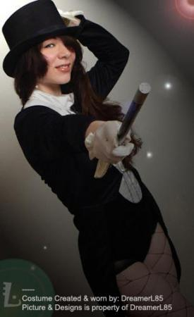 Zatanna Zatarra from DC Comics worn by LanaCosplay