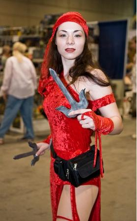 Elektra Natchios from Daredevil worn by LanaCosplay