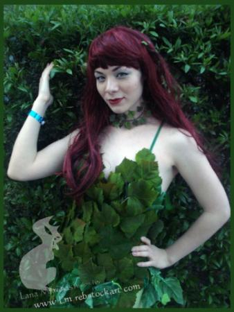Poison Ivy from Batman worn by LanaCosplay