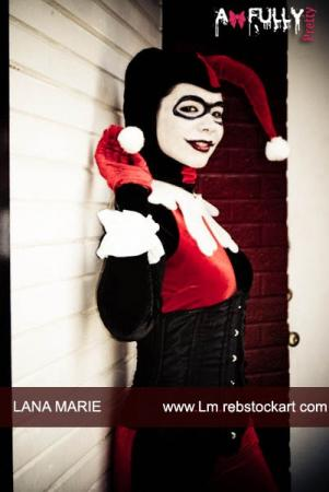 Harley Quinn / Dr. Harleen Francis Quinzel  	 from Batman worn by LanaCosplay