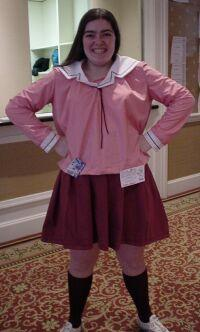 Tomo Takino from Azumanga Daioh worn by SoraKirei