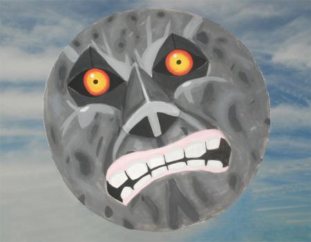 The Moon from Legend of Zelda: Majora's Mask worn by Miri