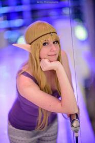 Princess Zelda from Legend of Zelda worn by The Only Angel
