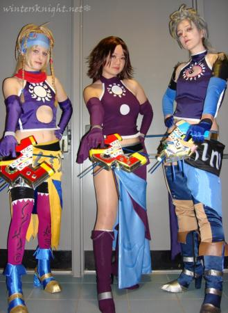 Paine from Final Fantasy X-2 worn by Winters Knight
