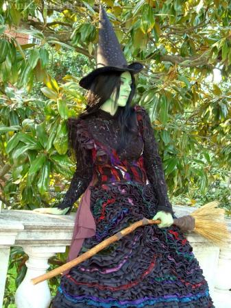 Elphaba from Wicked the Musical worn by Winters Knight