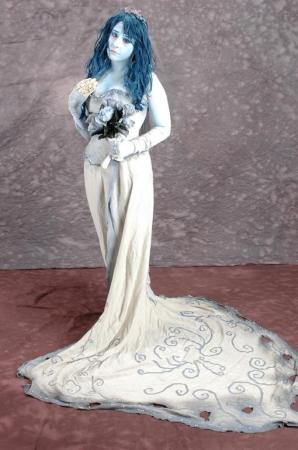 Emily from Corpse Bride worn by Athena