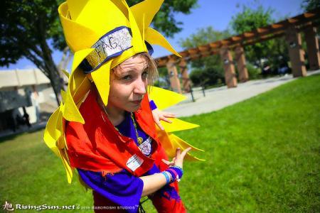 Goku from Dragonball Z worn by Athena