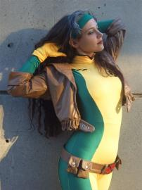 Rogue from X-Men worn by SunseenLi