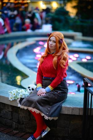 Diana from Zero Time Dilemma by feytaline