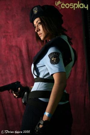 Jill Valentine from Resident Evil 4 worn by Eva Cabrera