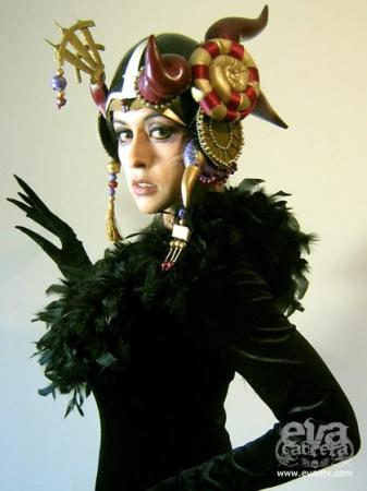 Edea from Final Fantasy VIII worn by Eva Cabrera