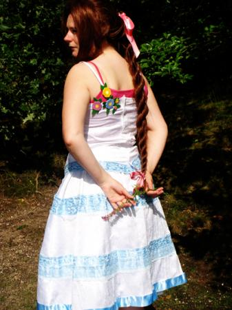 Aeris / Aerith Gainsborough from Final Fantasy VII: Crisis Core worn by Jenangel