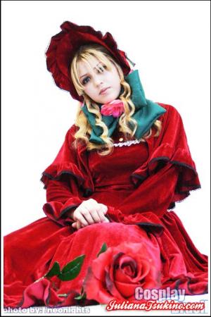 Shinku from Rozen Maiden worn by Ju Tsukino