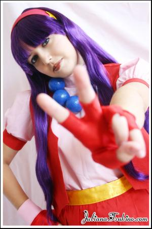 Athena Asamiya from King of Fighters 1996