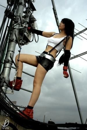 Tifa Lockhart from Final Fantasy VII worn by Ju Tsukino