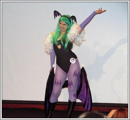 Morrigan Aensland from Darkstalkers worn by Hellooo ^_^