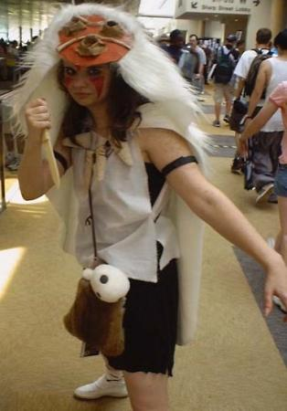 San from Princess Mononoke worn by Hikaru0