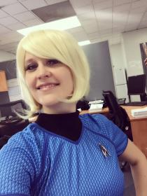 Carol Marcus from Star Trek worn by Luna