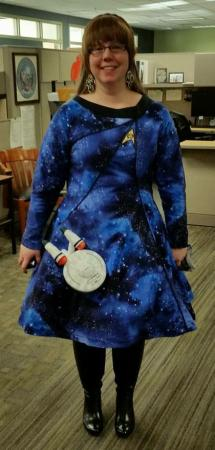 Science Officer from Star Trek worn by ILTXFILES