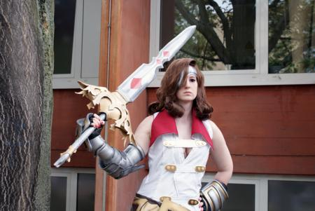 Beatrix from Final Fantasy IX worn by TheBoss