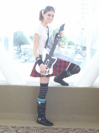 Judy Nails from Guitar Hero II
