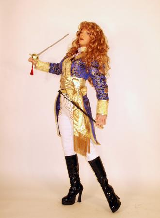 Oscar Francoise de Jarjayes from Rose of Versailles worn by Tristen Citrine