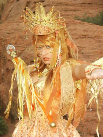Sun Faerie from Original:  Fantasy worn by Tristen Citrine