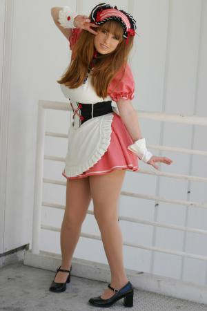 Mikuru Asahina from Melancholy of Haruhi Suzumiya worn by Tristen Citrine