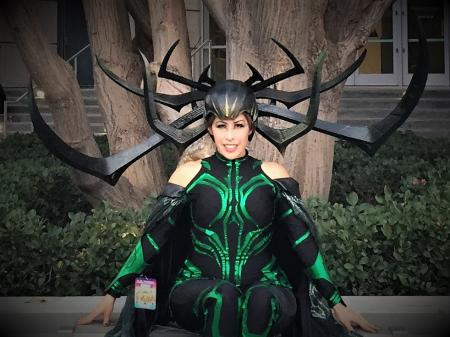 Hela from Thor worn by Umigoddess