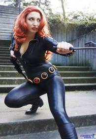 Black Widow from Marvel Comics worn by Etaru Kaumoto