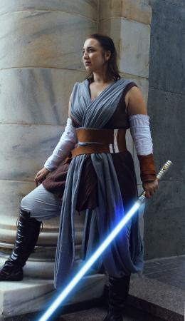 Rey from Star Wars Episode 7: The Force Awakens