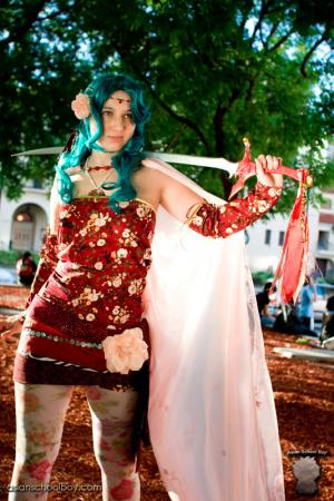 Terra Branford from Final Fantasy VI worn by Etaru Kaumoto