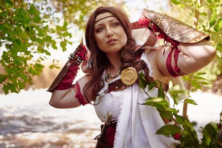 Kassandra from Assassin's Creed