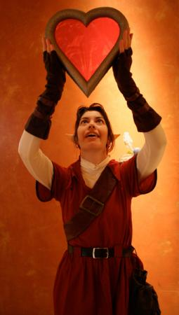 Link from Legend of Zelda: Ocarina of Time worn by TR Rose