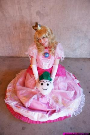 Princess Peach from Super Smash Bros. worn by TR Rose