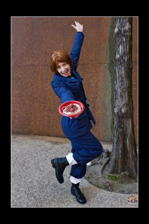 Italy (Veneziano) / Feliciano Vargas from Axis Powers Hetalia worn by TR Rose