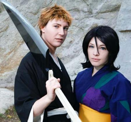 Rukia Kuchiki from Bleach worn by Ashley