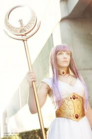 Athena from Saint Seiya worn by Ashley