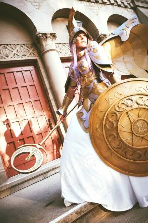 Athena (Saint Seiya)  by Ashley