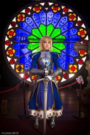 Saber from Fate/Zero by Ashley