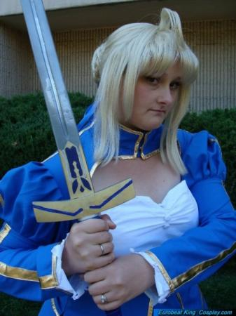 Saber from Fate/Stay Night worn by Aurianne