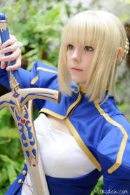 Saber from Fate/Stay Night worn by Maridah