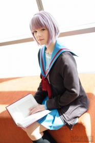 Yuki Nagato from Melancholy of Haruhi Suzumiya worn by Maridah