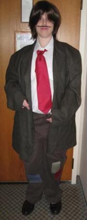 Remus Lupin from Harry Potter worn by Mary Ryan Bogard
