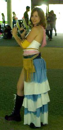 Yuna from Final Fantasy X-2