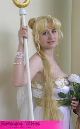 Princess Serenity from Sailor Moon worn by Alkrea
