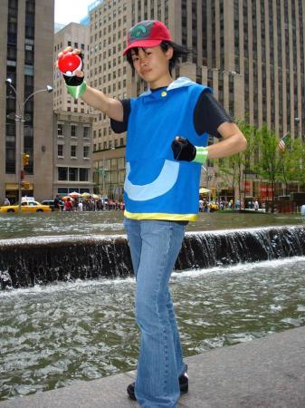 Ash Ketchum / Satoshi from Pokemon worn by Chibiko