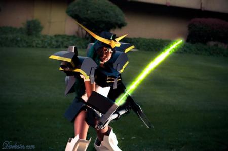 Deathscythe from Mobile Suit Gundam Wing worn by LauraC